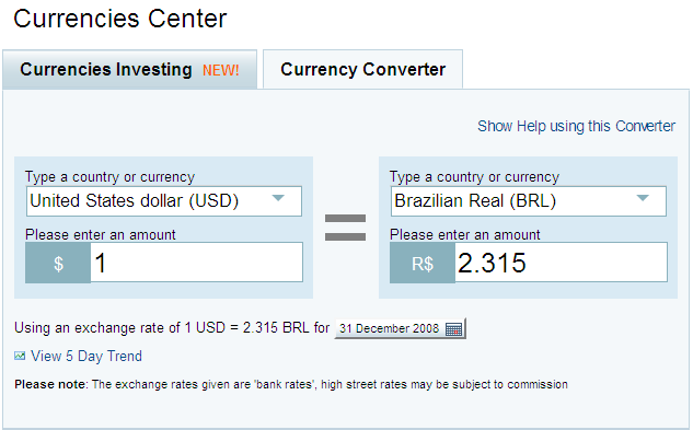 Online foreign currency exchange rates in portugal