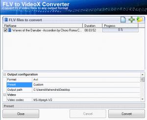 Converta seus vídeos de FLV para AVI